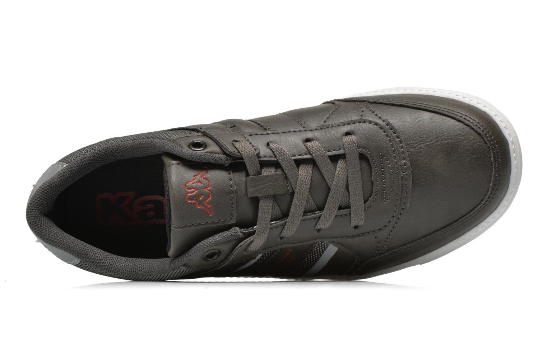 Sneaker Kappa Ottawif Low Kid grau ansicht von links