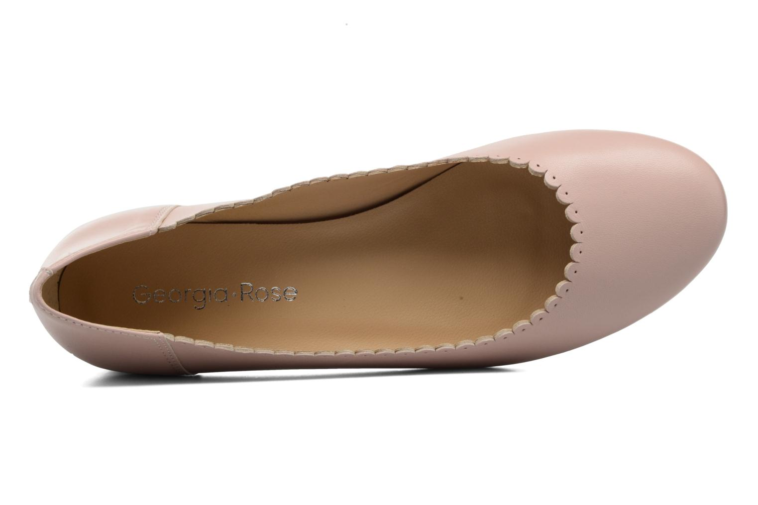 Ballet pumps Georgia Rose Sabby Beige view from the left