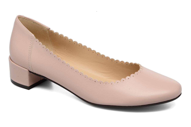 Ballerinaer Georgia Rose Sabby Beige detaljeret billede af skoene