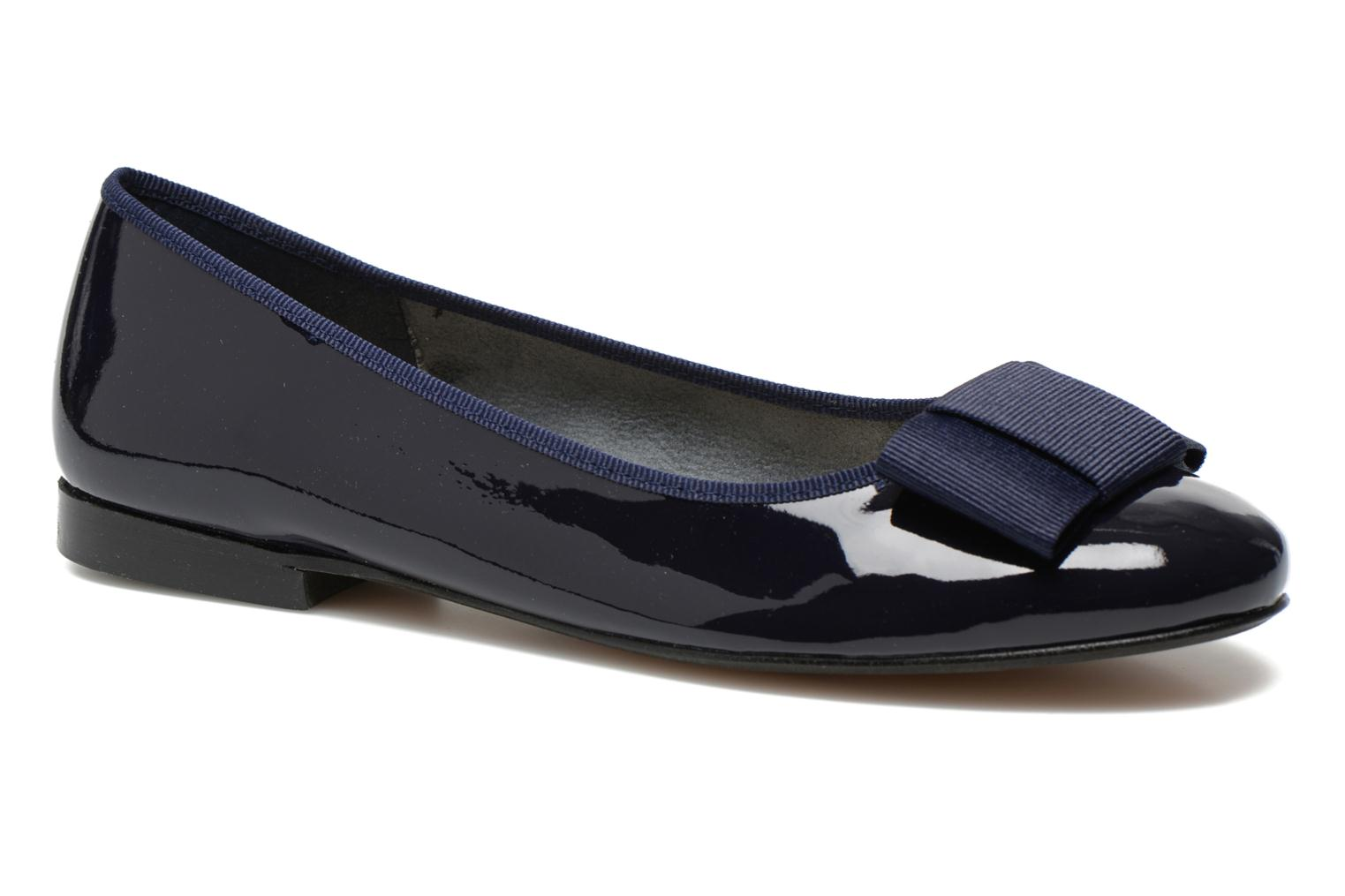 Ballet pumps Georgia Rose Siable Blue detailed view/ Pair view
