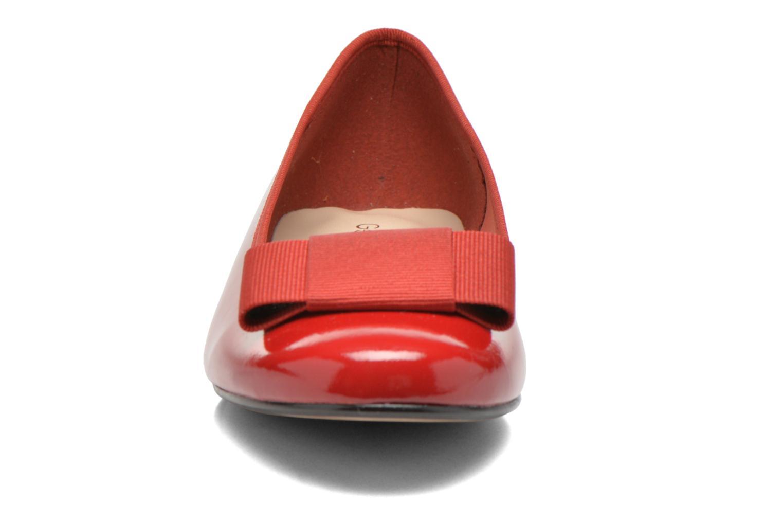Ballerinas Georgia Rose Siable rot schuhe getragen