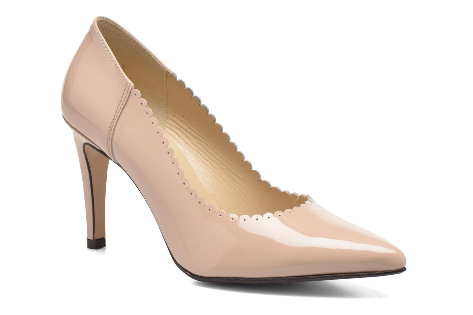 High heels Georgia Rose Safecto Beige detailed view/ Pair view