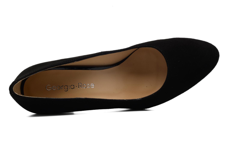 Zapatos de tacón Georgia Rose Santoo Negro vista lateral izquierda