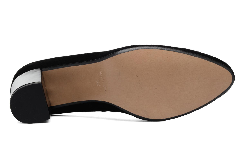 Zapatos de tacón Georgia Rose Santoo Negro vista de arriba