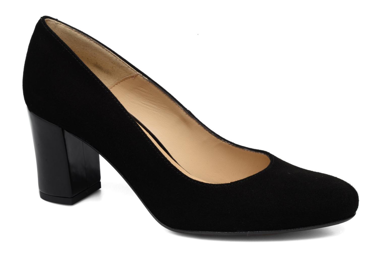 Høje hæle Georgia Rose Santoo Sort detaljeret billede af skoene