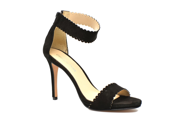 Sandaler Georgia Rose Sandalia Sort detaljeret billede af skoene
