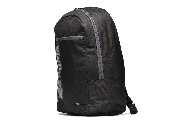 Zaini Puma Pioneer backpack I Nero modello indossato