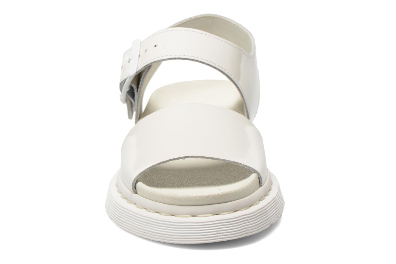 Sandales et nu-pieds Dr. Martens Shore Romi Y strap Sandal Blanc vue portées chaussures
