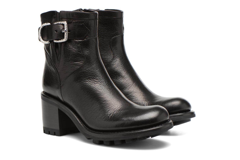 Stiefeletten & Boots Free Lance Justy 7 Small Gero Buckle schwarz 3 von 4 ansichten