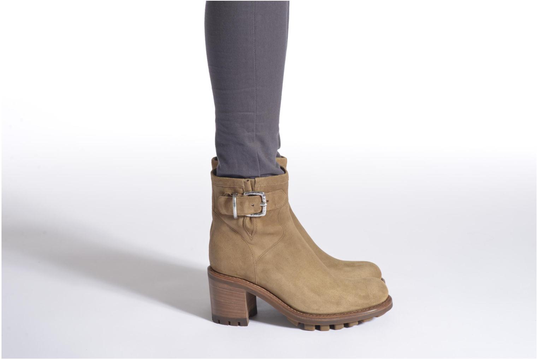Stiefeletten & Boots Free Lance Justy 7 Small Gero Buckle schwarz ansicht von unten / tasche getragen