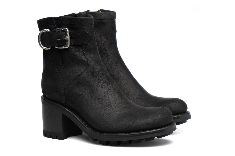 Boots en enkellaarsjes Free Lance Justy 7 Small Gero Buckle Zwart 3/4'