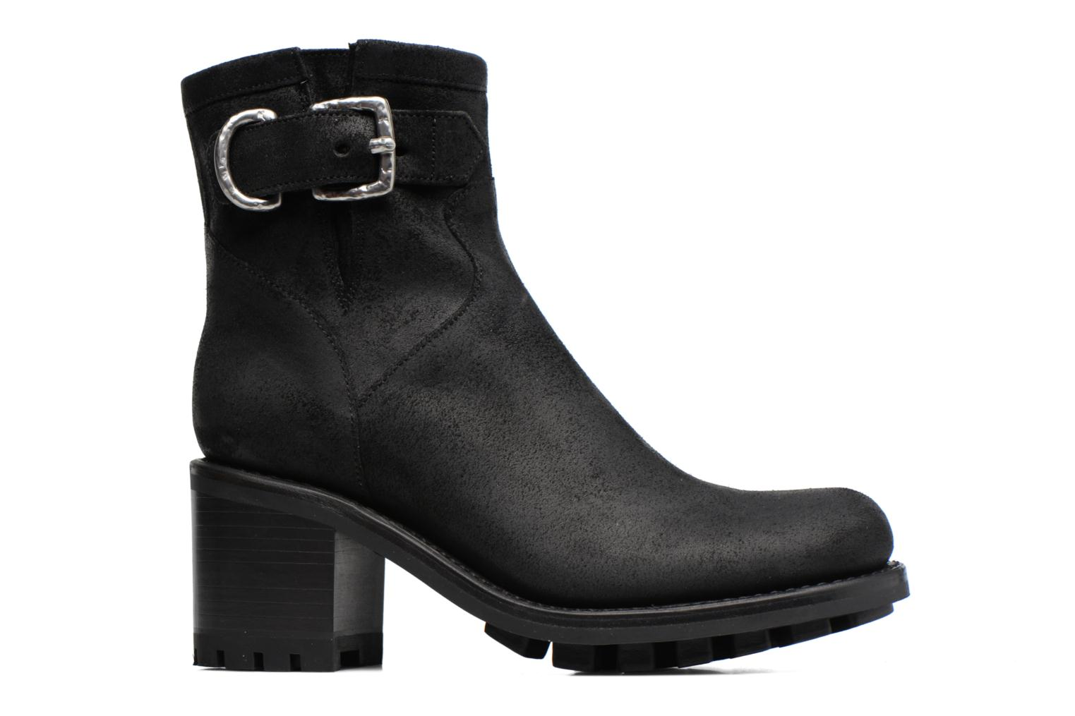 Ankle boots Free Lance Justy 7 Small Gero Buckle Black back view