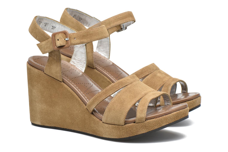 Sandales et nu-pieds Free Lance Ystad 7 Sandal Beige vue 3/4