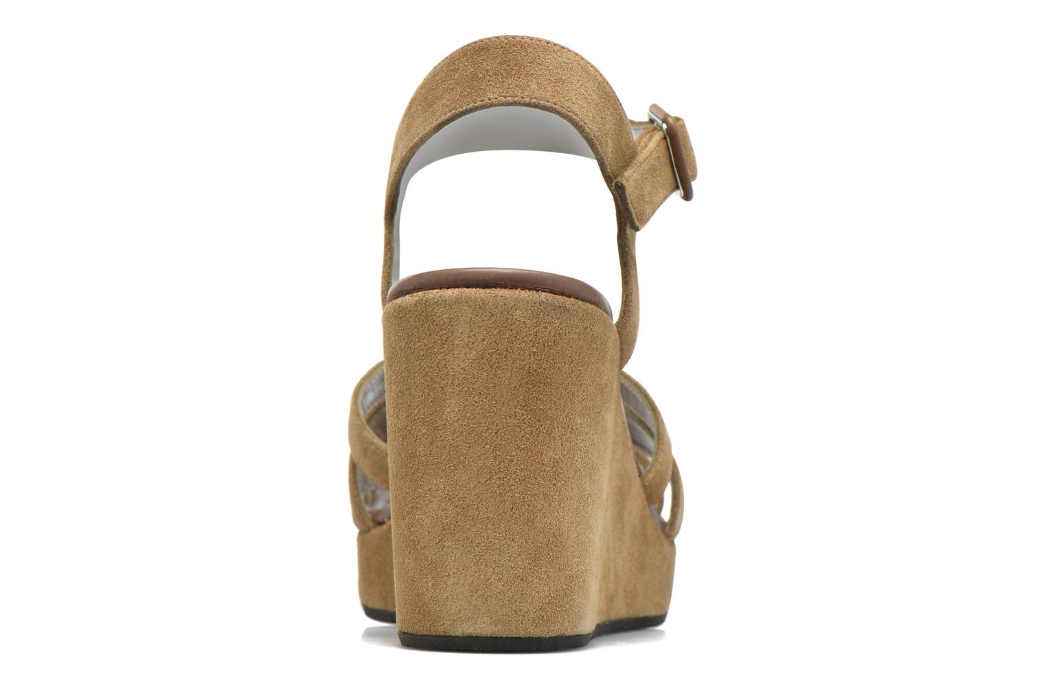 Sandals Free Lance Ystad 7 Sandal Beige view from the right