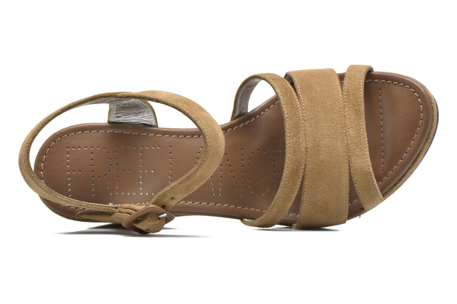 Sandals Free Lance Ystad 7 Sandal Beige view from the left