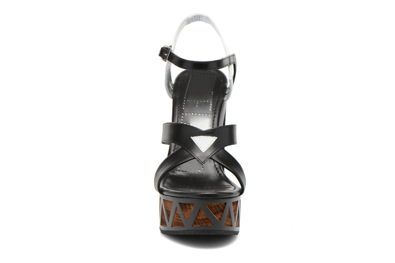 Sandalen Free Lance Facett 9 Cross Ankle Kimberley schwarz schuhe getragen