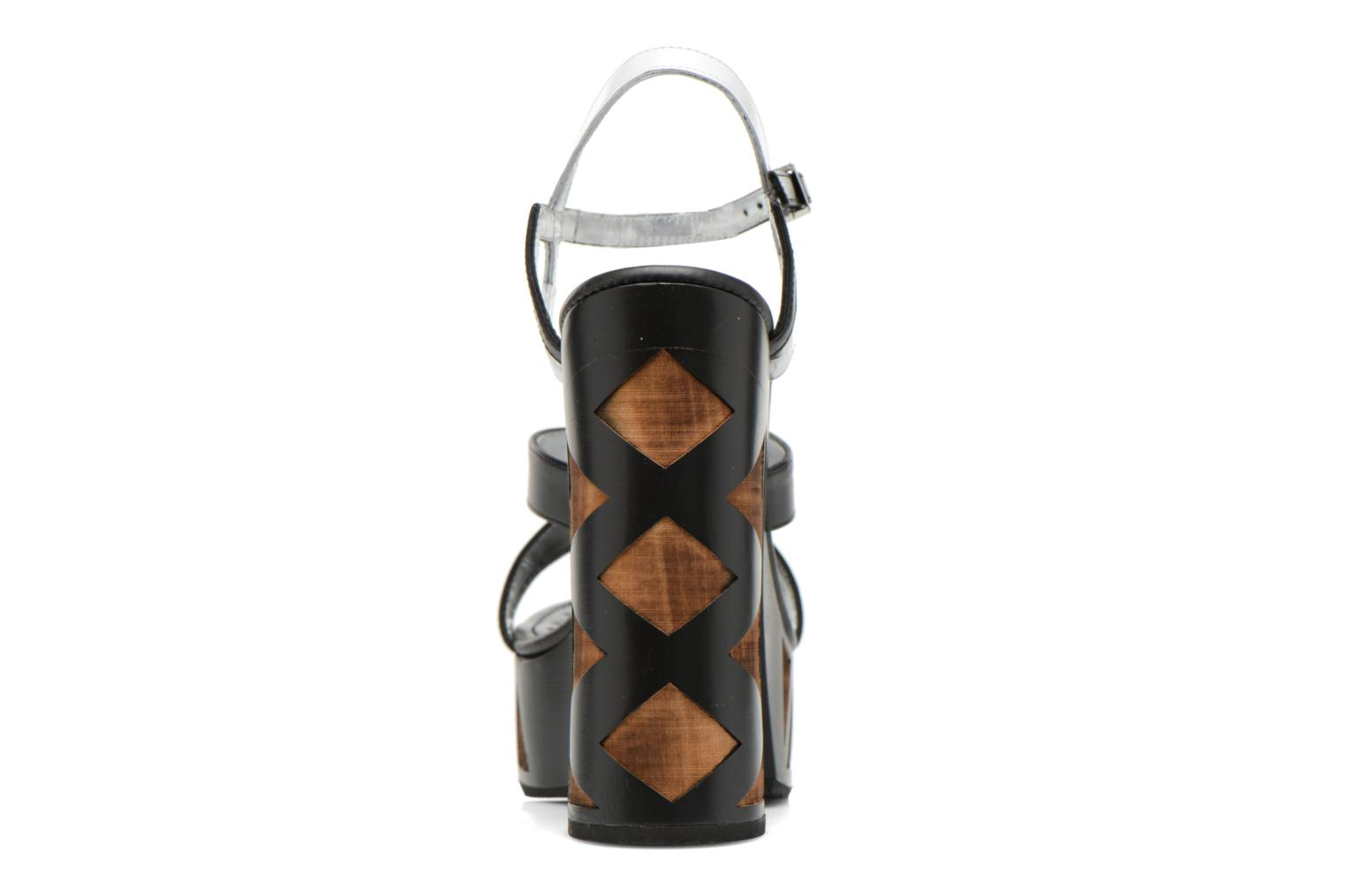Sandals Free Lance Facett 9 Cross Ankle Kimberley Black view from the right
