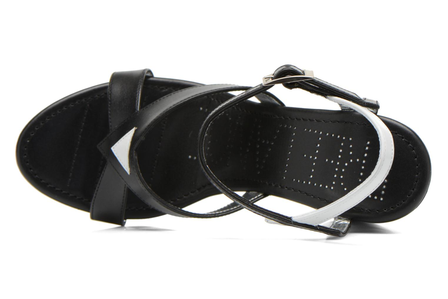 Sandals Free Lance Facett 9 Cross Ankle Kimberley Black view from the left