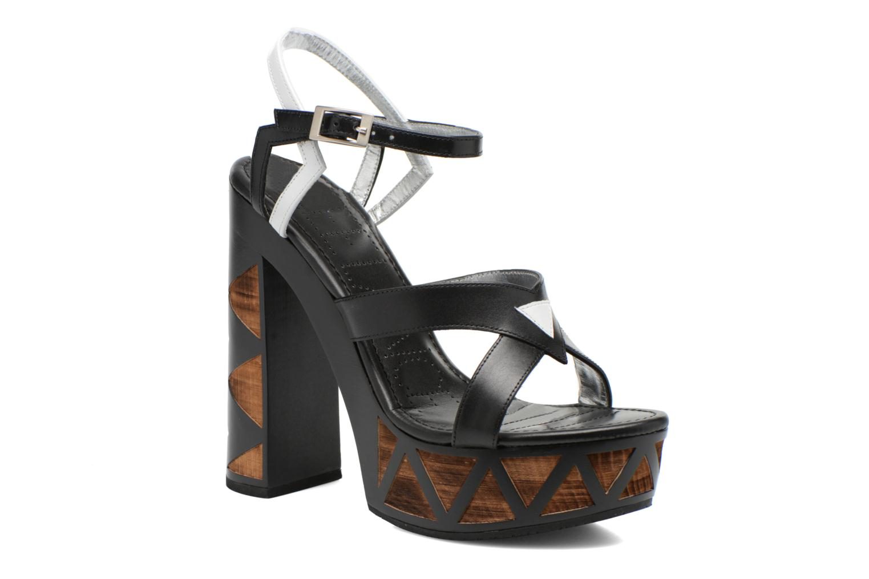 Sandalen Free Lance Facett 9 Cross Ankle Kimberley schwarz detaillierte ansicht/modell