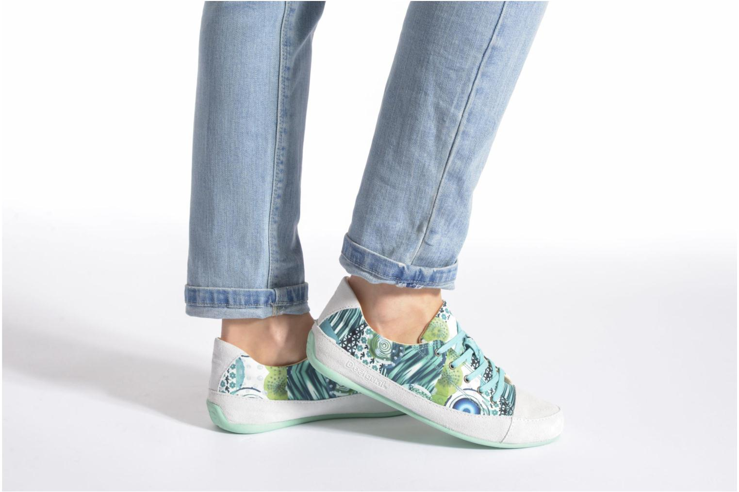 Lace-up shoes Desigual SHOES_HAPPY Multicolor view from underneath / model view