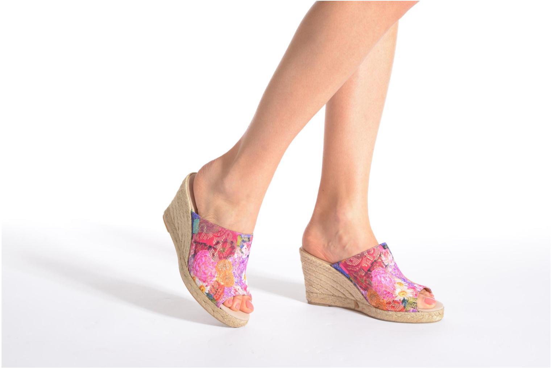 Clogs & Pantoletten Desigual SHOES_TARIFA 5 mehrfarbig ansicht von unten / tasche getragen