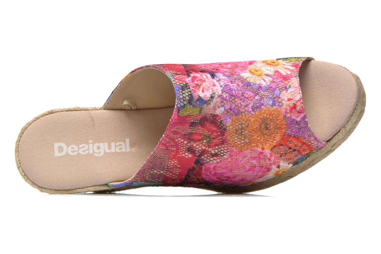 Mules & clogs Desigual SHOES_TARIFA 5 Multicolor view from the left