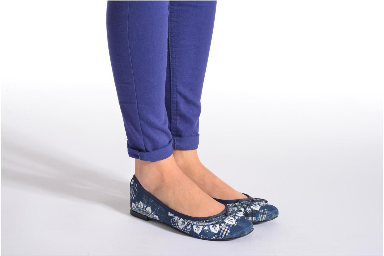 Ballerina's Desigual SHOES_MISSIA 2 Blauw onder