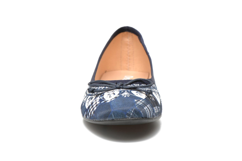 Ballerines Desigual SHOES_MISSIA 2 Bleu vue portées chaussures