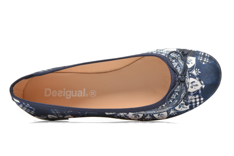 Ballerina's Desigual SHOES_MISSIA 2 Blauw links