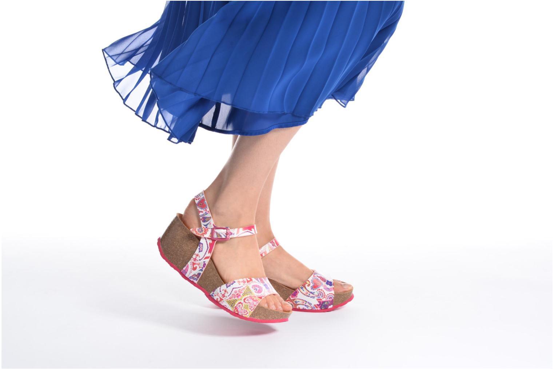 Sandalen Desigual SHOES_BIO 7 mehrfarbig ansicht von unten / tasche getragen