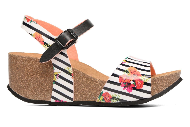 Sandales et nu-pieds Desigual SHOES_BIO 7 Multicolore vue derrière