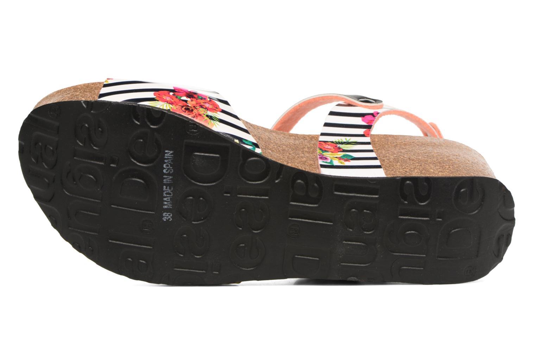 Sandalen Desigual SHOES_BIO 7 mehrfarbig ansicht von oben