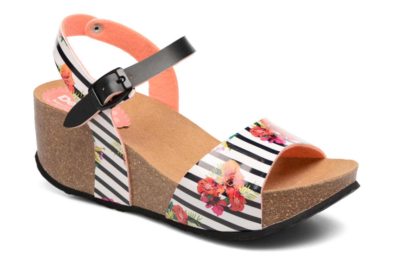 Sandales et nu-pieds Desigual SHOES_BIO 7 Multicolore vue détail/paire