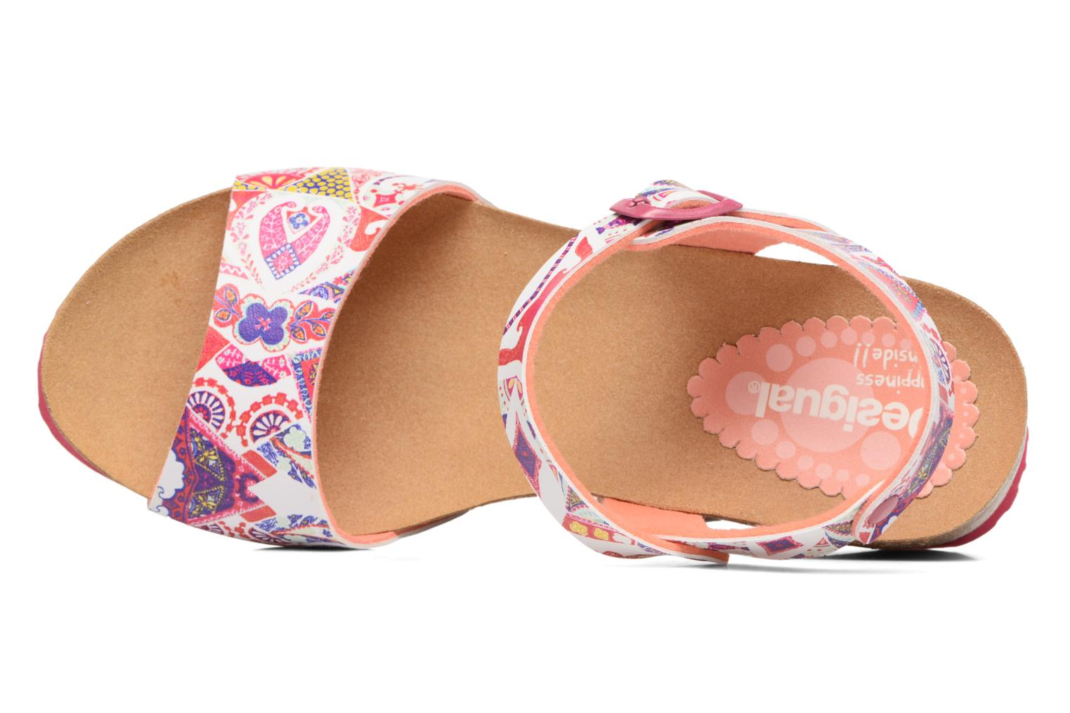 Sandals Desigual SHOES_BIO 7 Multicolor view from the left