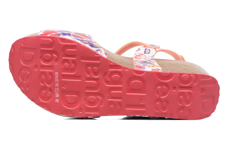 Sandalias Desigual SHOES_BIO 7 Multicolor vista de arriba