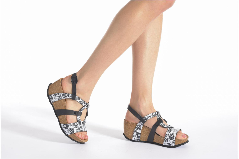Sandales et nu-pieds Desigual SHOES_BIO 9 ANISSA ALHAMBRA Multicolore vue bas / vue portée sac