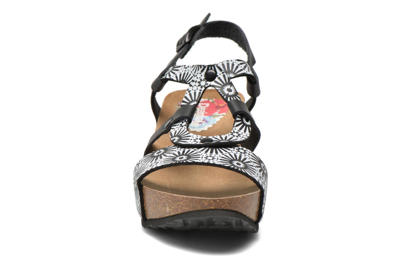 Sandales et nu-pieds Desigual SHOES_BIO 9 ANISSA ALHAMBRA Multicolore vue portées chaussures