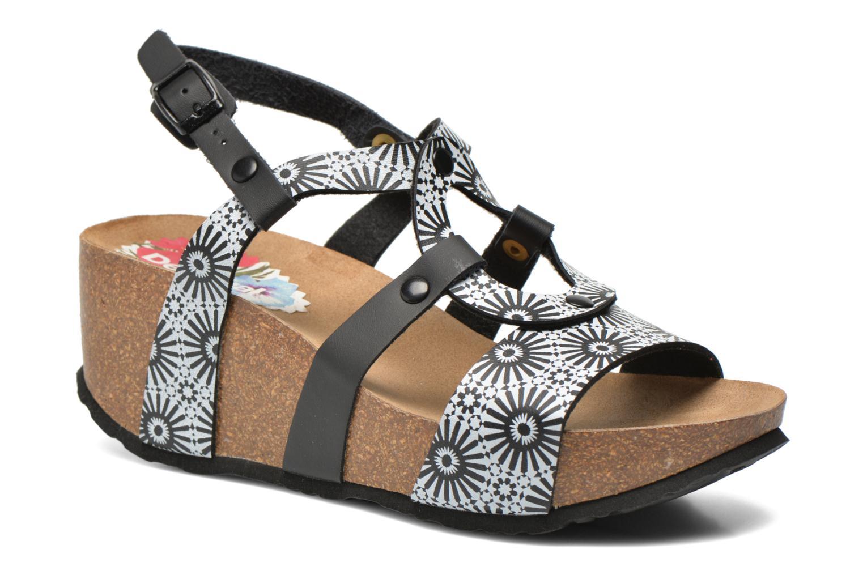 Sandales et nu-pieds Desigual SHOES_BIO 9 ANISSA ALHAMBRA Multicolore vue détail/paire