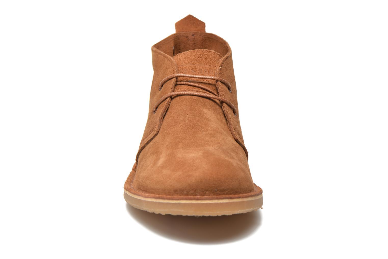Chaussures à lacets Jack & Jones JJ Gobi Marron vue portées chaussures