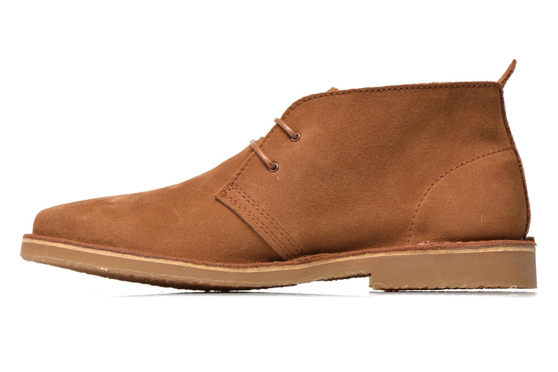 Chaussures à lacets Jack & Jones JJ Gobi Marron vue face
