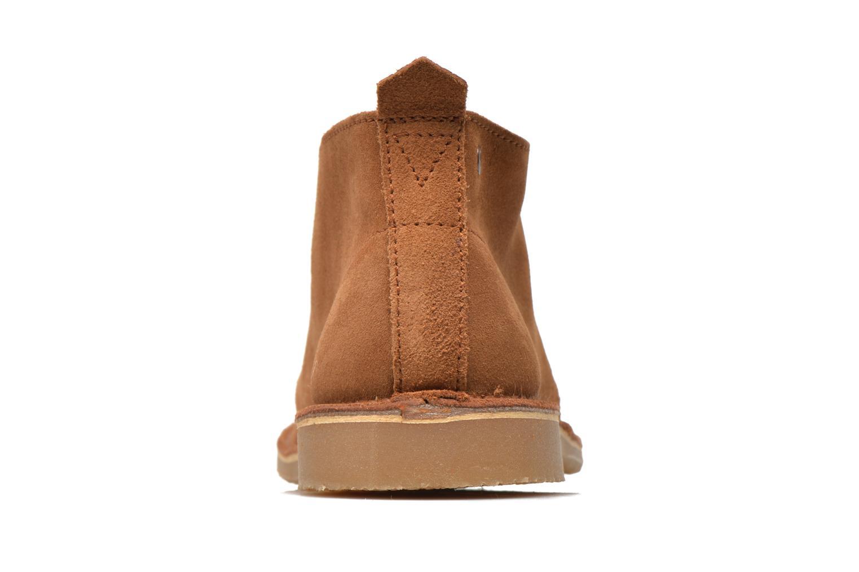 Chaussures à lacets Jack & Jones JJ Gobi Marron vue droite