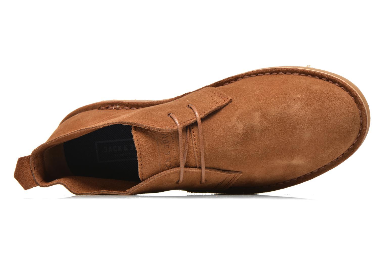 Chaussures à lacets Jack & Jones JJ Gobi Marron vue gauche