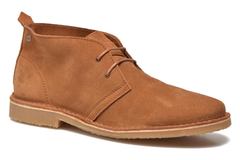 Chaussures à lacets Jack & Jones JJ Gobi Marron vue détail/paire