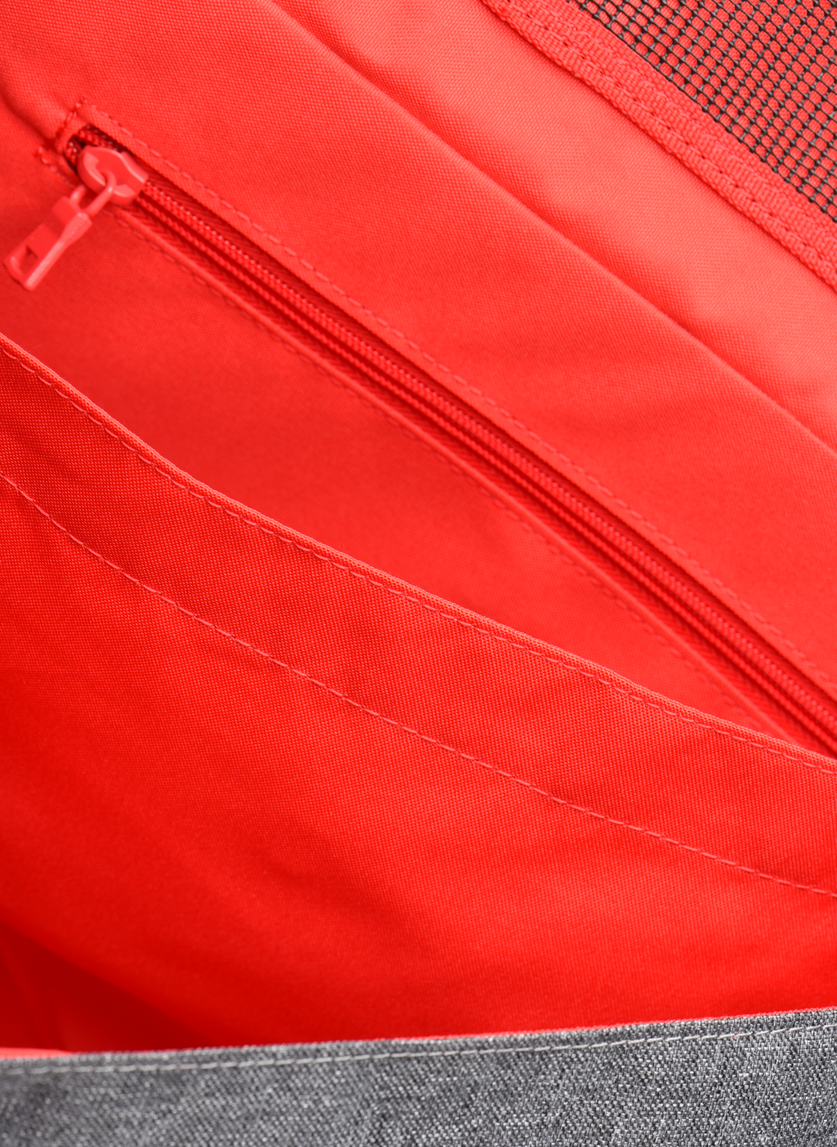 Schooltassen Tann's Cartable 38cm CLASSIC Grijs achterkant