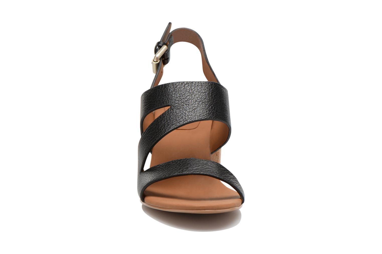 Sandales et nu-pieds See by Chloé Lev Noir vue portées chaussures