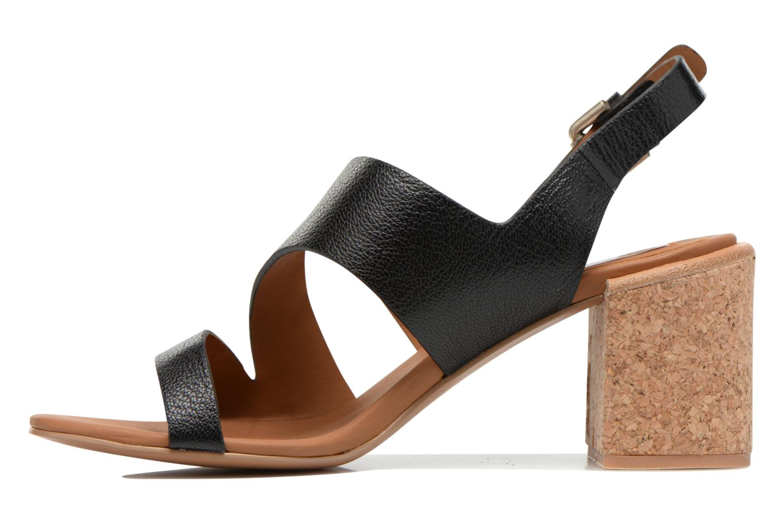 Sandales et nu-pieds See by Chloé Lev Noir vue face