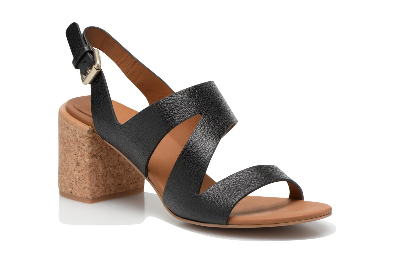 Sandales et nu-pieds See by Chloé Lev Noir vue détail/paire