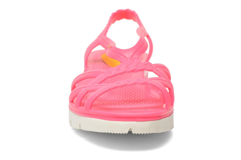 Sandales et nu-pieds Lemon Jelly Miaki Rose vue portées chaussures