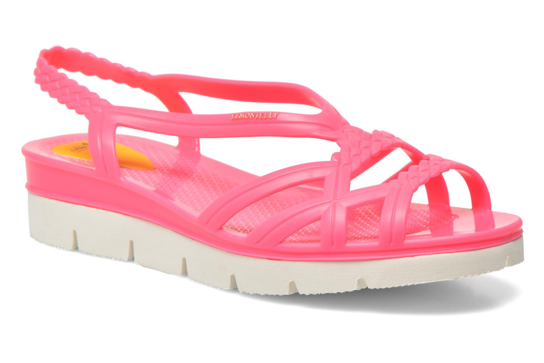 Sandales et nu-pieds Lemon Jelly Miaki Rose vue détail/paire