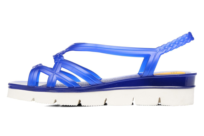 Sandales et nu-pieds Lemon Jelly Miaki Bleu vue face